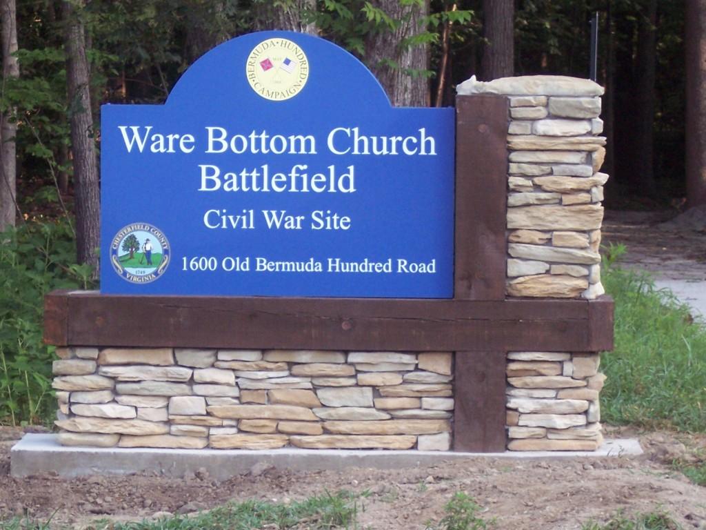 Ware Bottom Church Battlefield