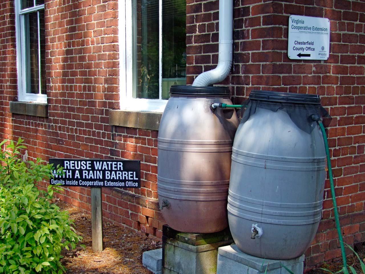 Chesterfield Rain Barrels