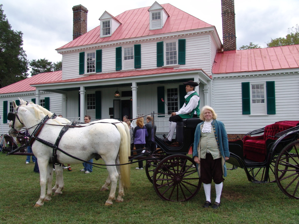 Eppington Heritage Day - Thomas Jefferson's 5th Great-Grandson Rob Coles